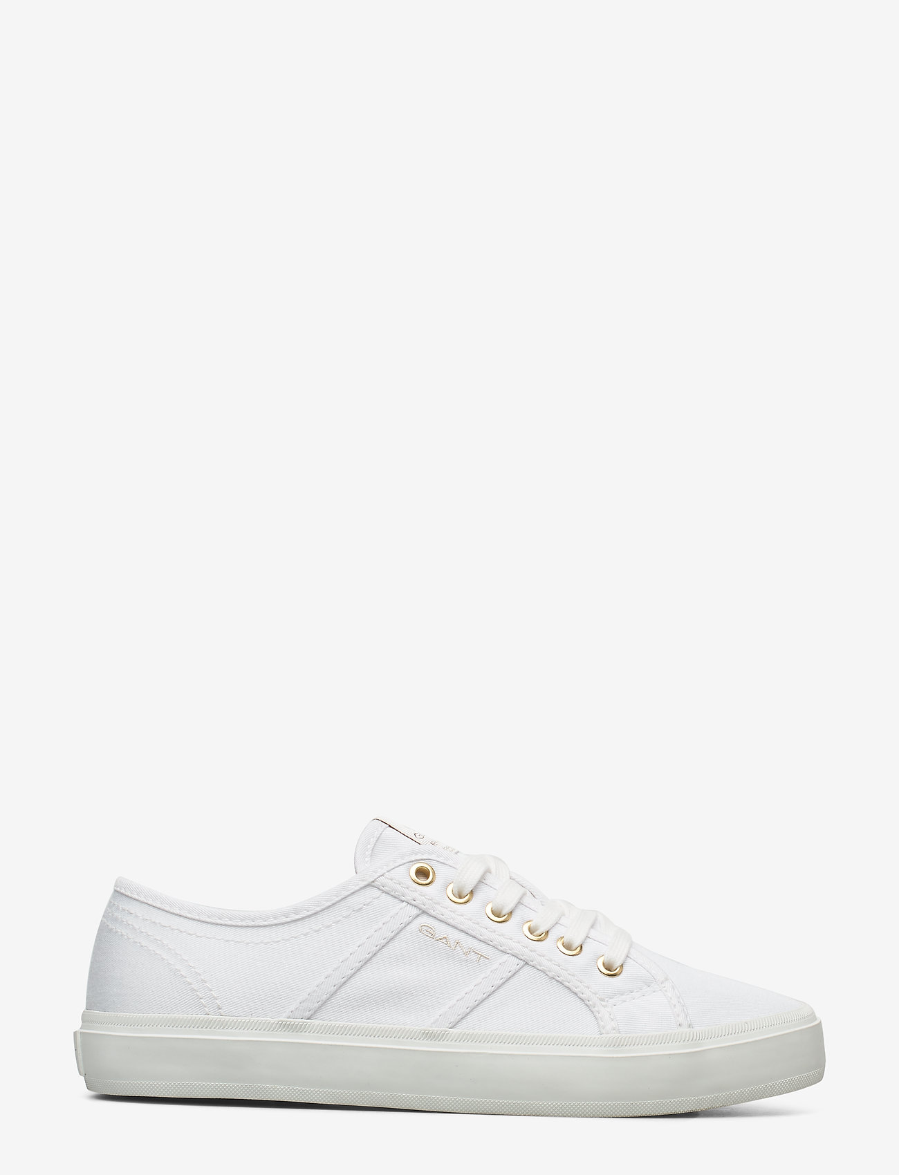 GANT - Pinestreet Low laceshoes - låga sneakers - white