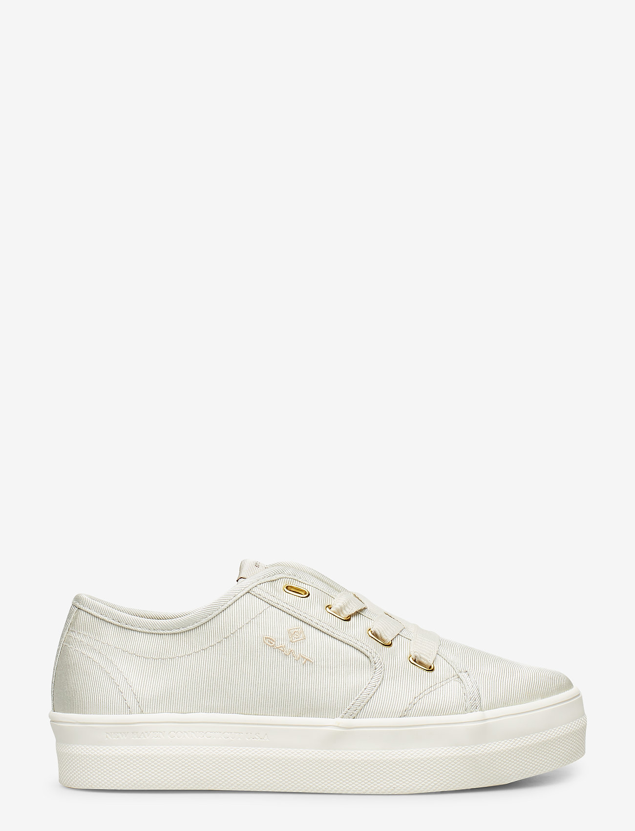 GANT - Leisha Low lace shoes - low top sneakers - silver gray - 1