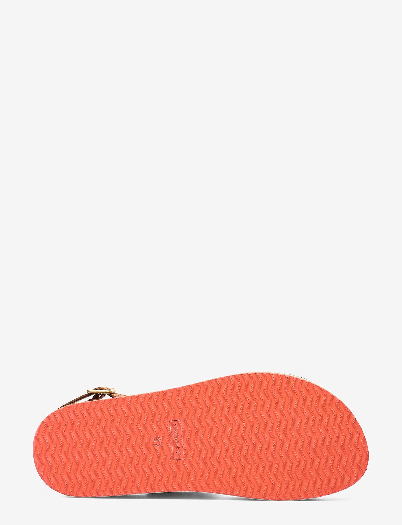 Midville Sandal (Cognac/coral) - GANT