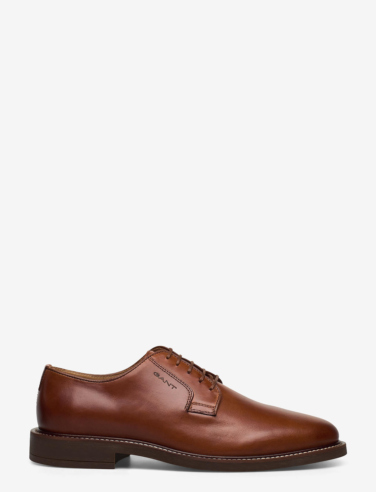 GANT - St Akron Low lace shoes - chaussures lacées - cognac - 1