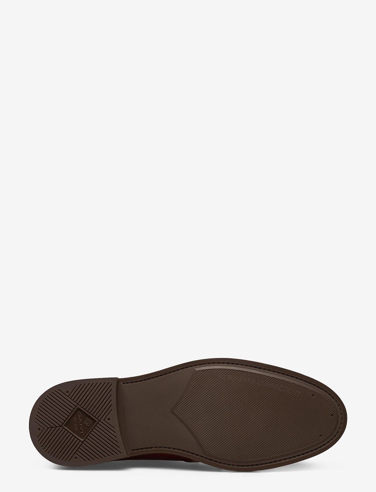 St Akron Low Lace Shoes (Cognac) - GANT
