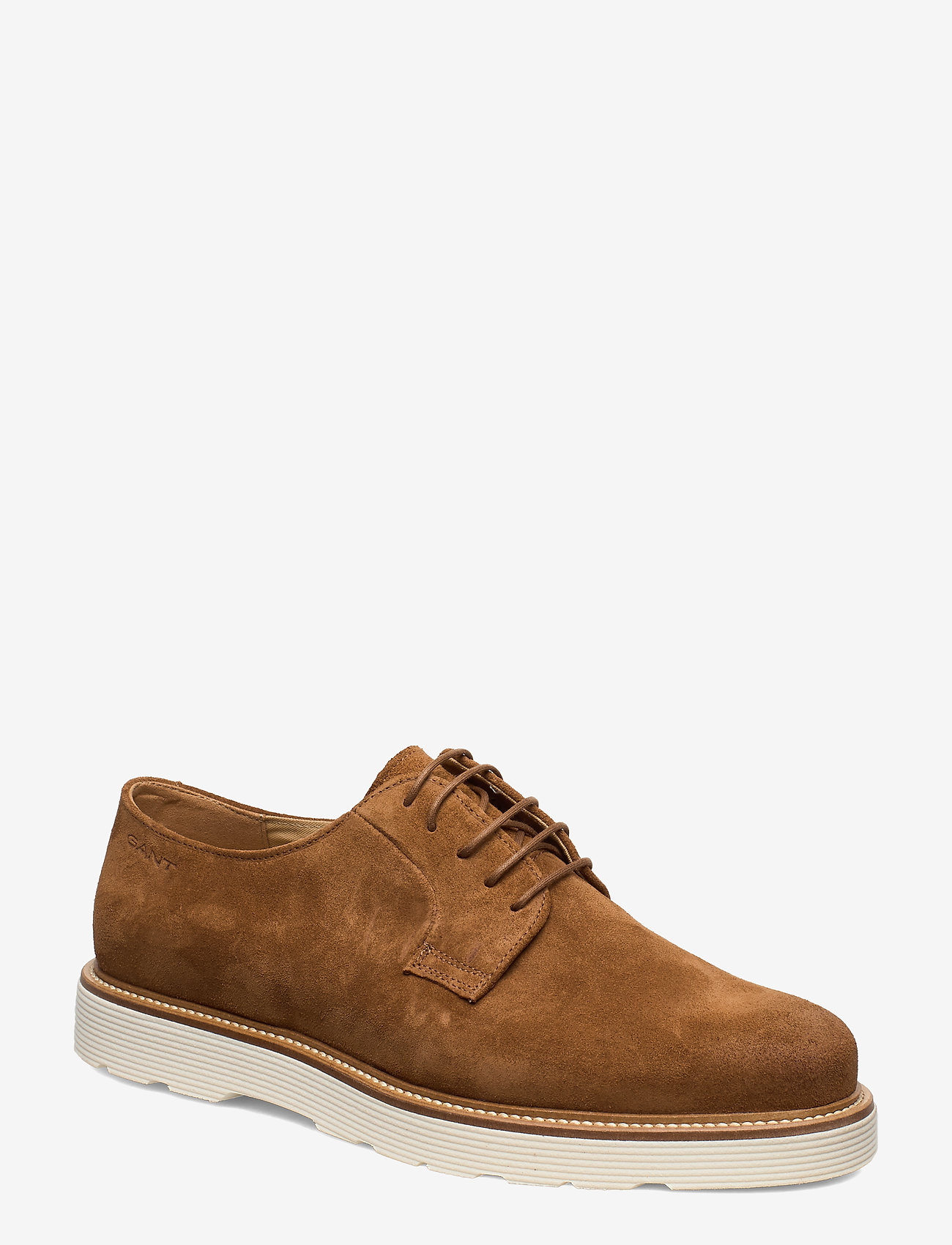 GANT - Prepburg Low lace shoes - chaussures lacées - cognac - 0