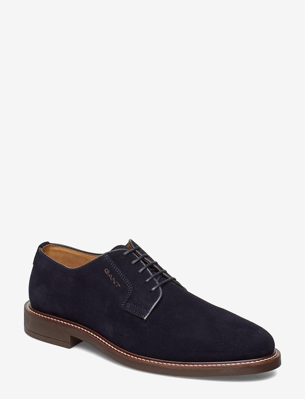 GANT - St Akron Low lace shoes - chaussures lacées - marine - 0