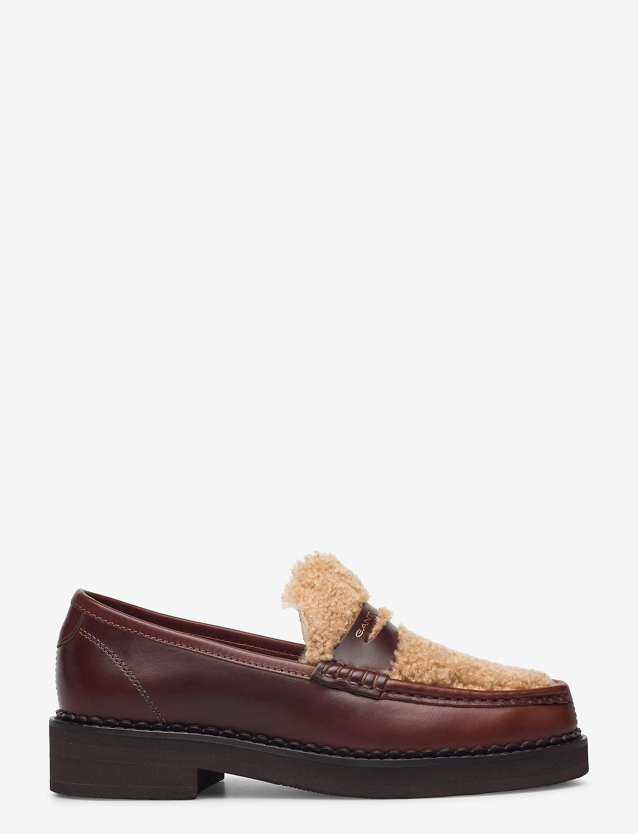 GANT - Woodla Low lace shoes - loafers - sienna brown - 1