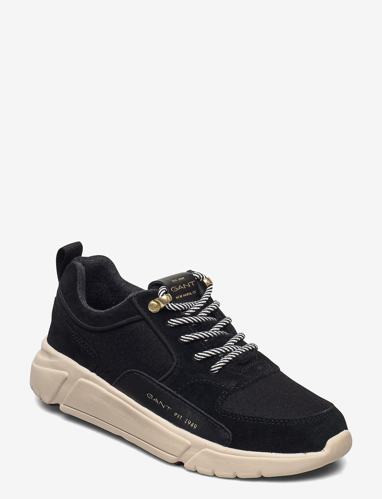 Cocoville Low Lace Shoes (Black) (71.47