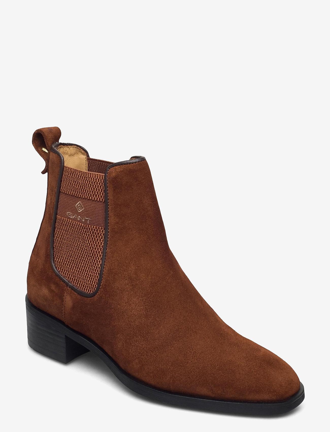 GANT - Dellar Chelsea - chelsea boots - cognac - 0