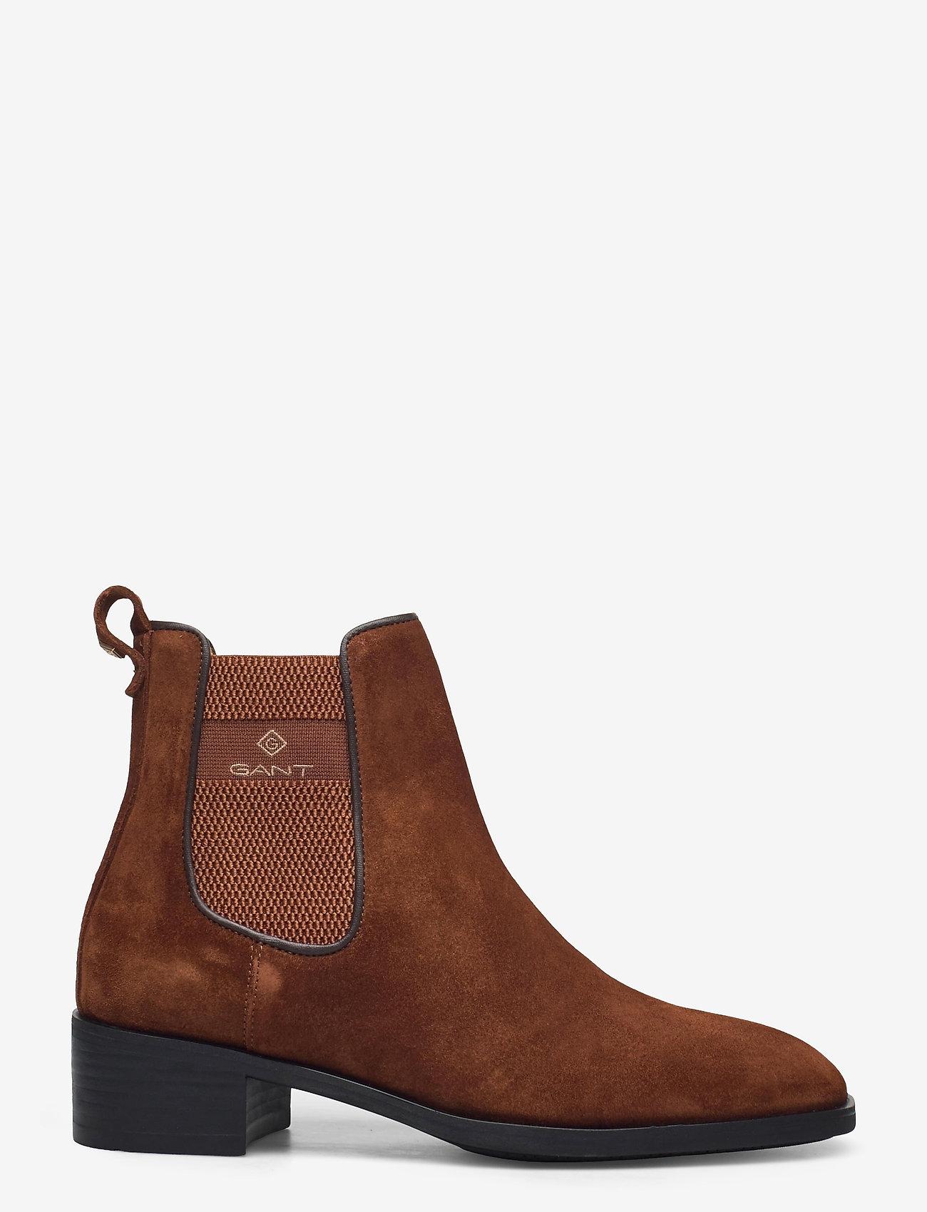 GANT - Dellar Chelsea - chelsea boots - cognac - 1
