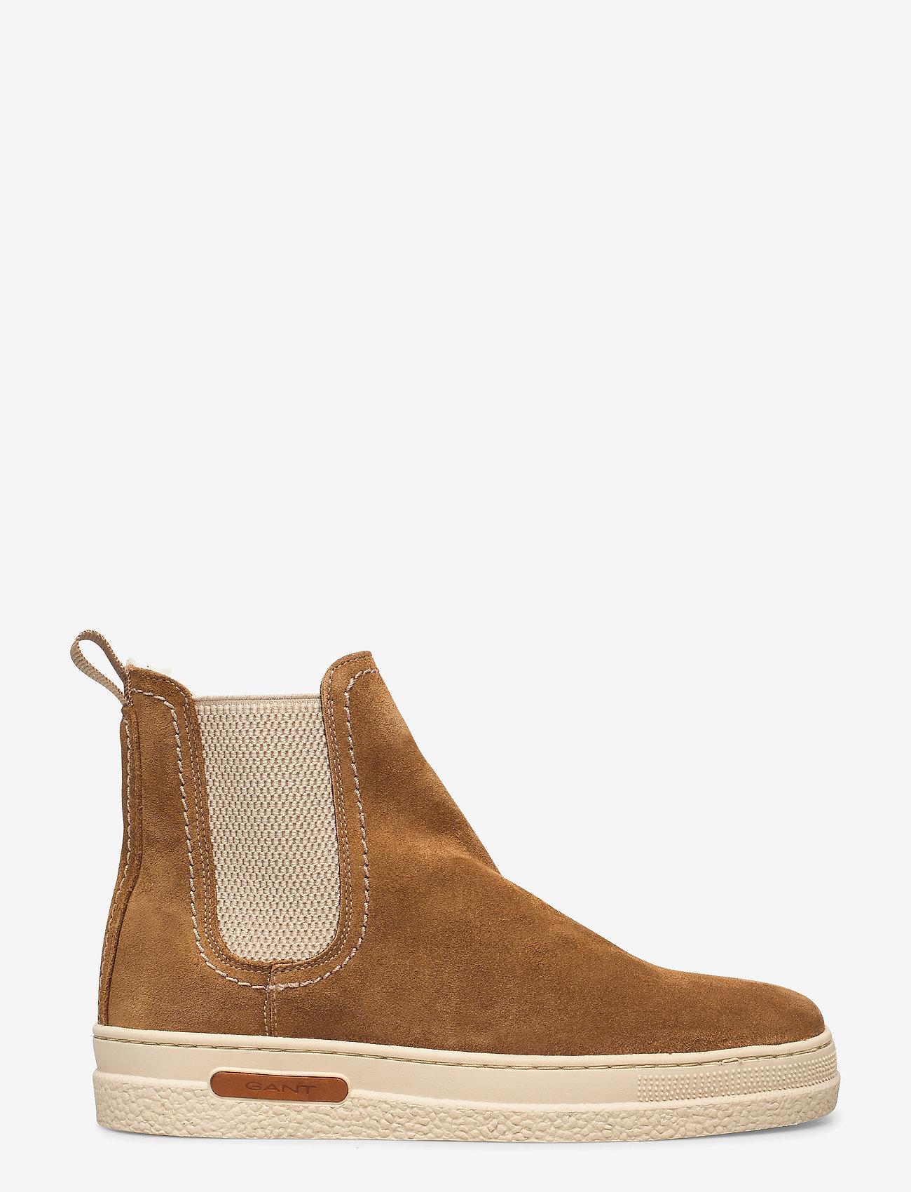 GANT - Breonna Chelsea - chelsea boots - warm khaki - 1