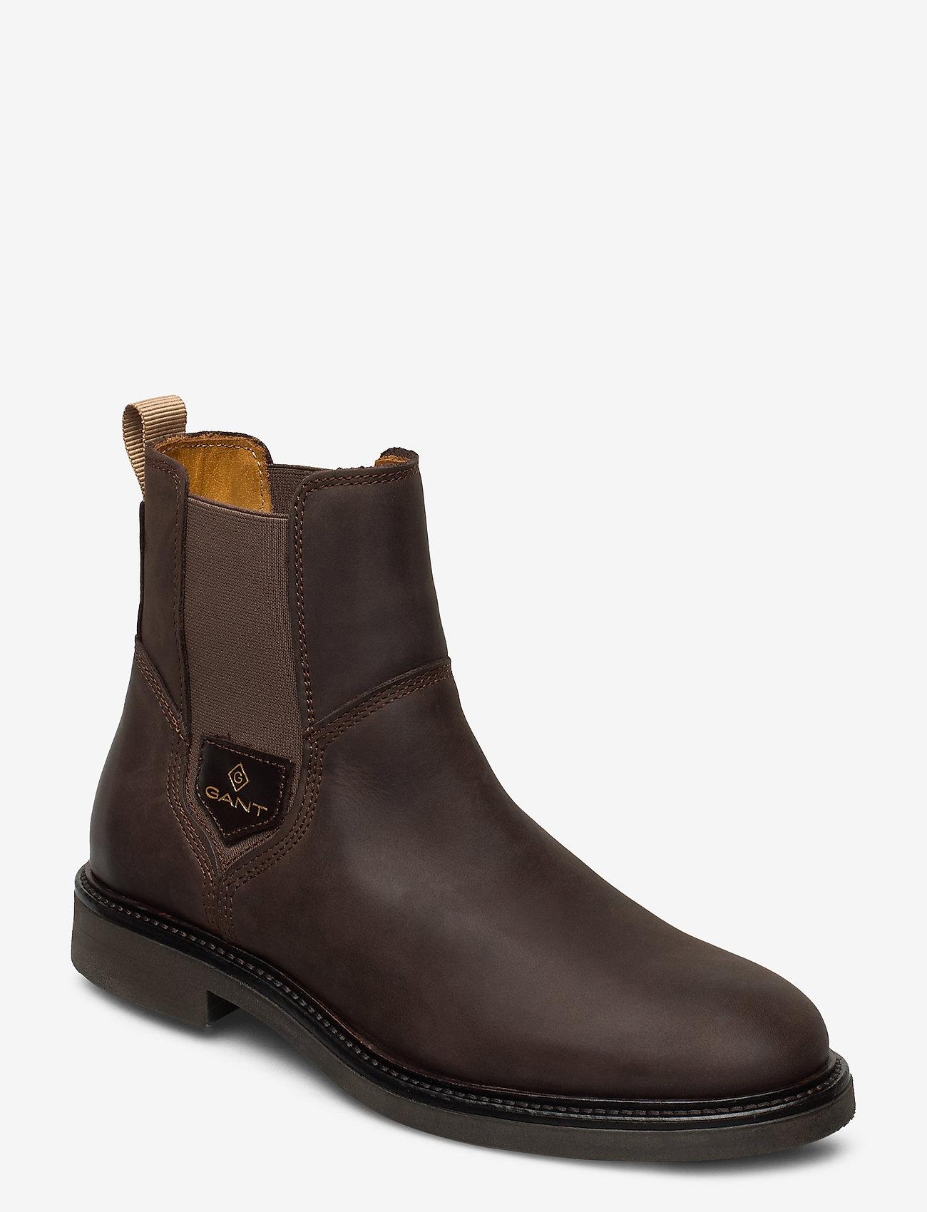 GANT - Ashleyy Chelsea - chelsea boots - dark brown - 0