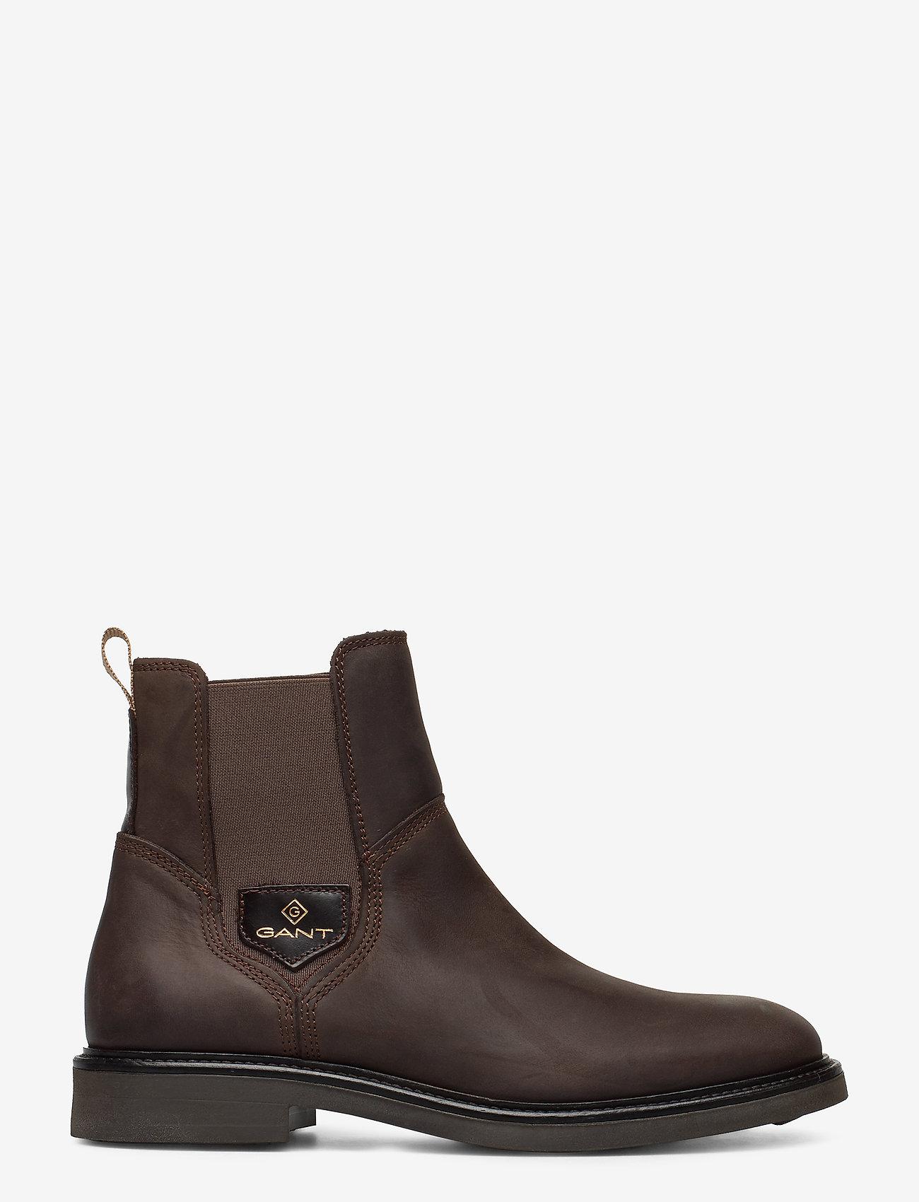 GANT - Ashleyy Chelsea - chelsea boots - dark brown - 1