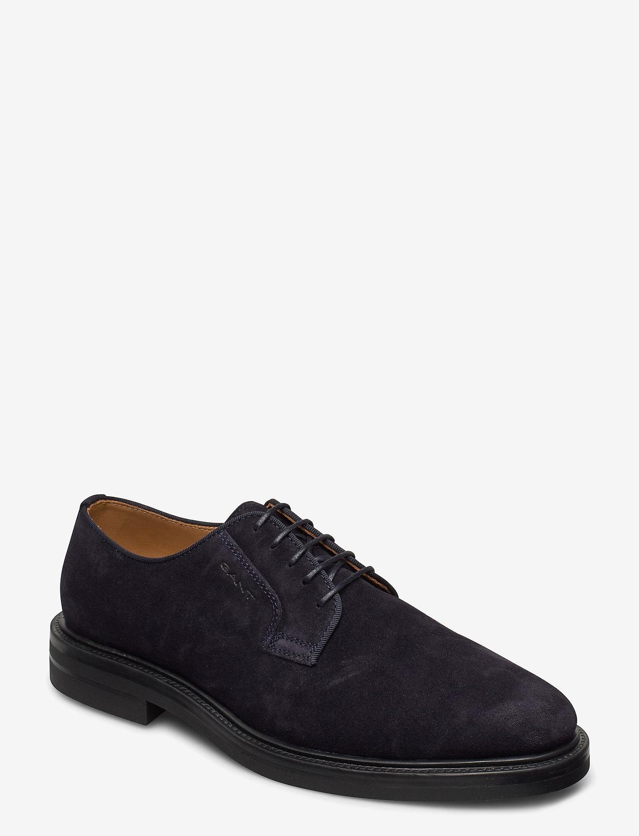 GANT - Kyree Low lace shoes - snøresko - marine - 0