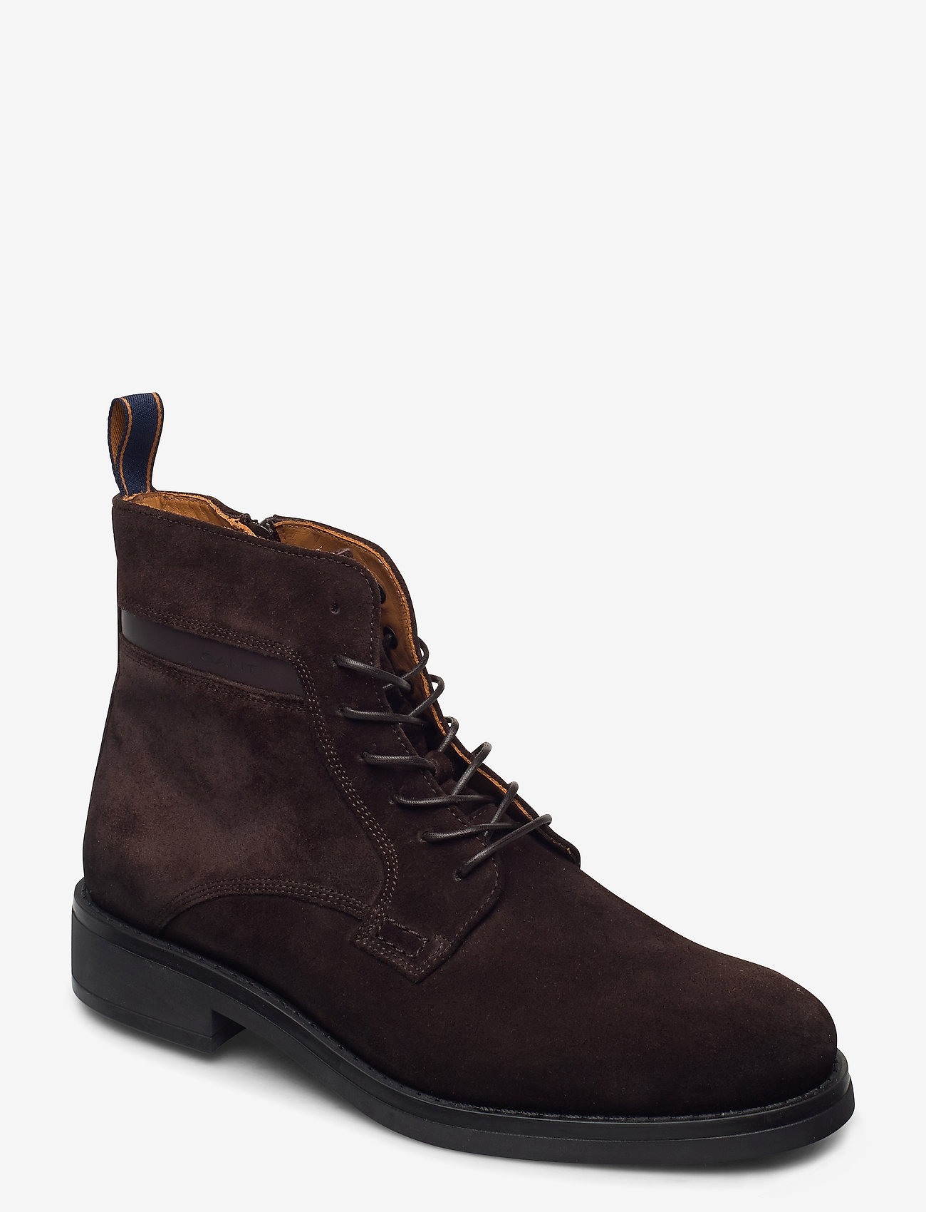 GANT - Brookly Mid lace boot - laced boots - dark brown - 0