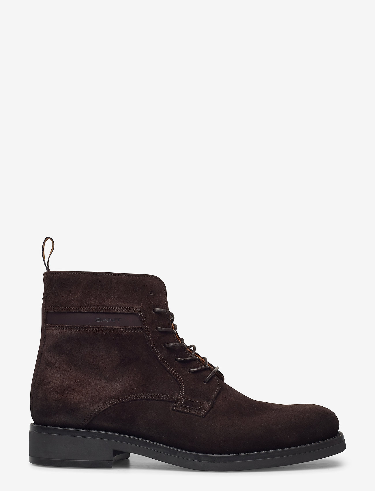 GANT - Brookly Mid lace boot - laced boots - dark brown - 1