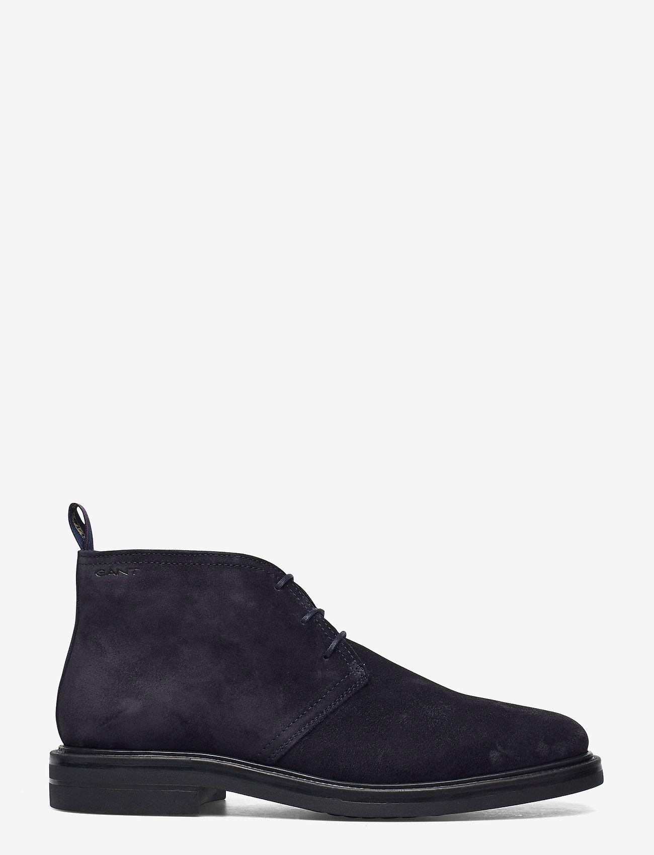 GANT - Kyree Mid lace boot - desert boots - marine - 1