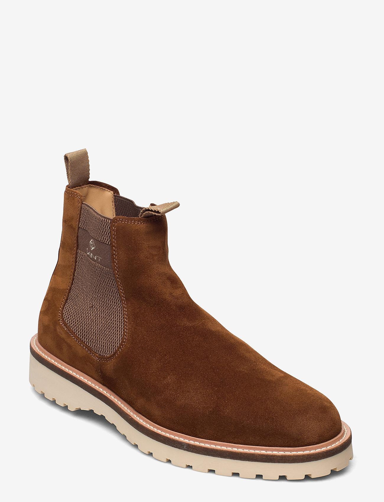 GANT - Roden Chelsea boot - chelsea boots - cognac - 0
