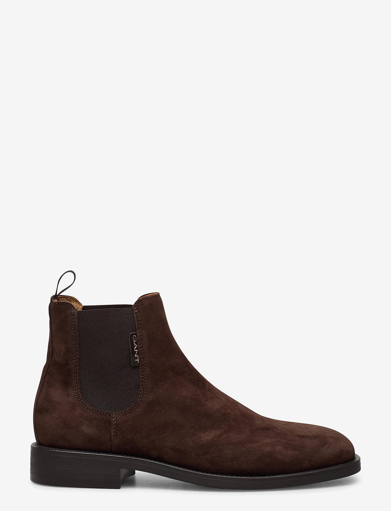 GANT - Brockwill Chelsea - chelsea boots - dark brown - 1