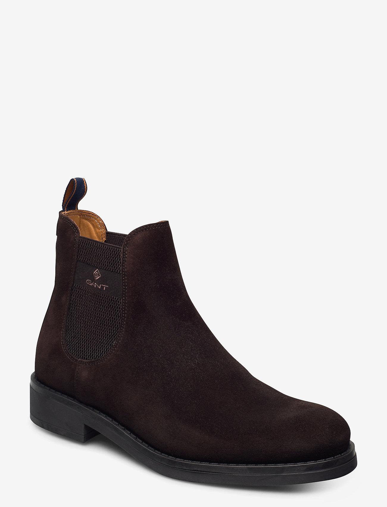 GANT - Brookly Chelsea - chelsea boots - dark brown - 0