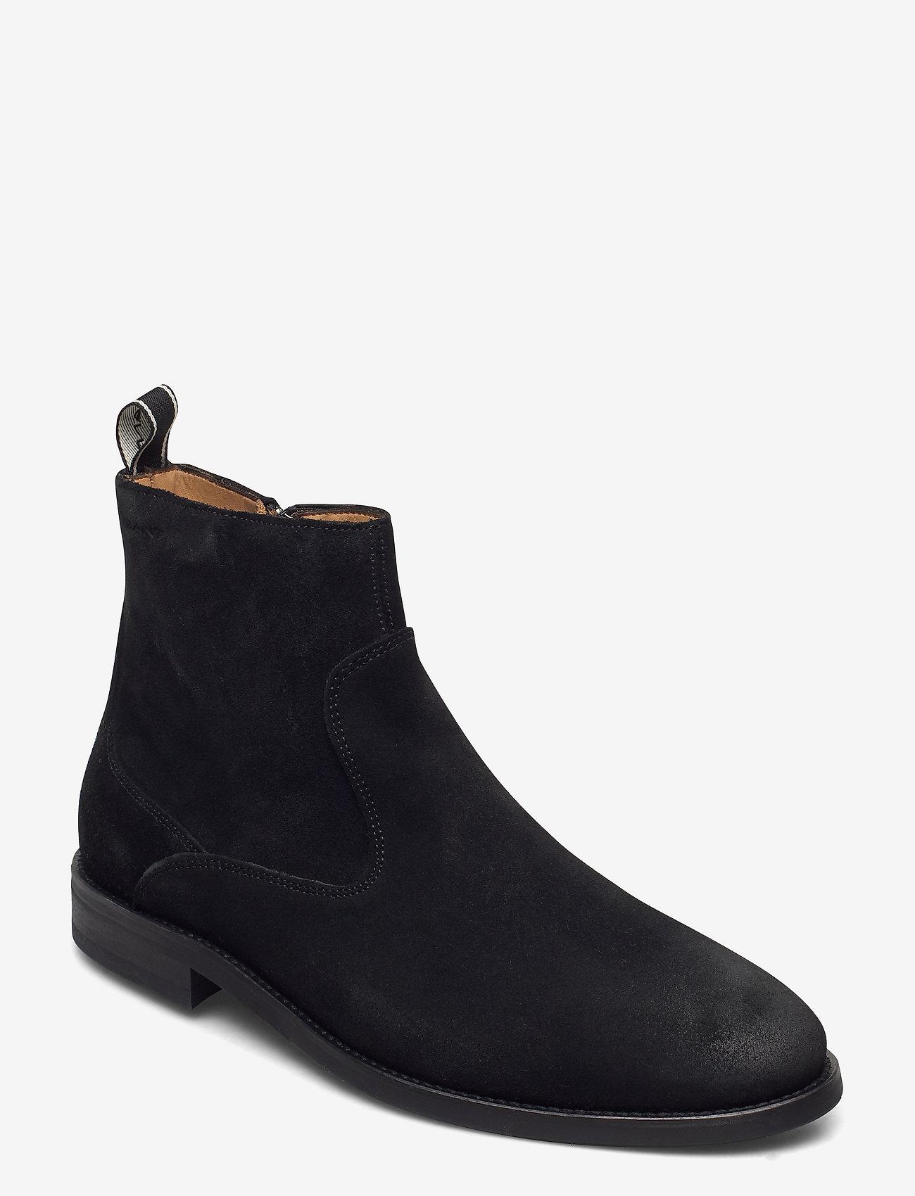 GANT - Sharpville Chelsea - chelsea boots - black - 0