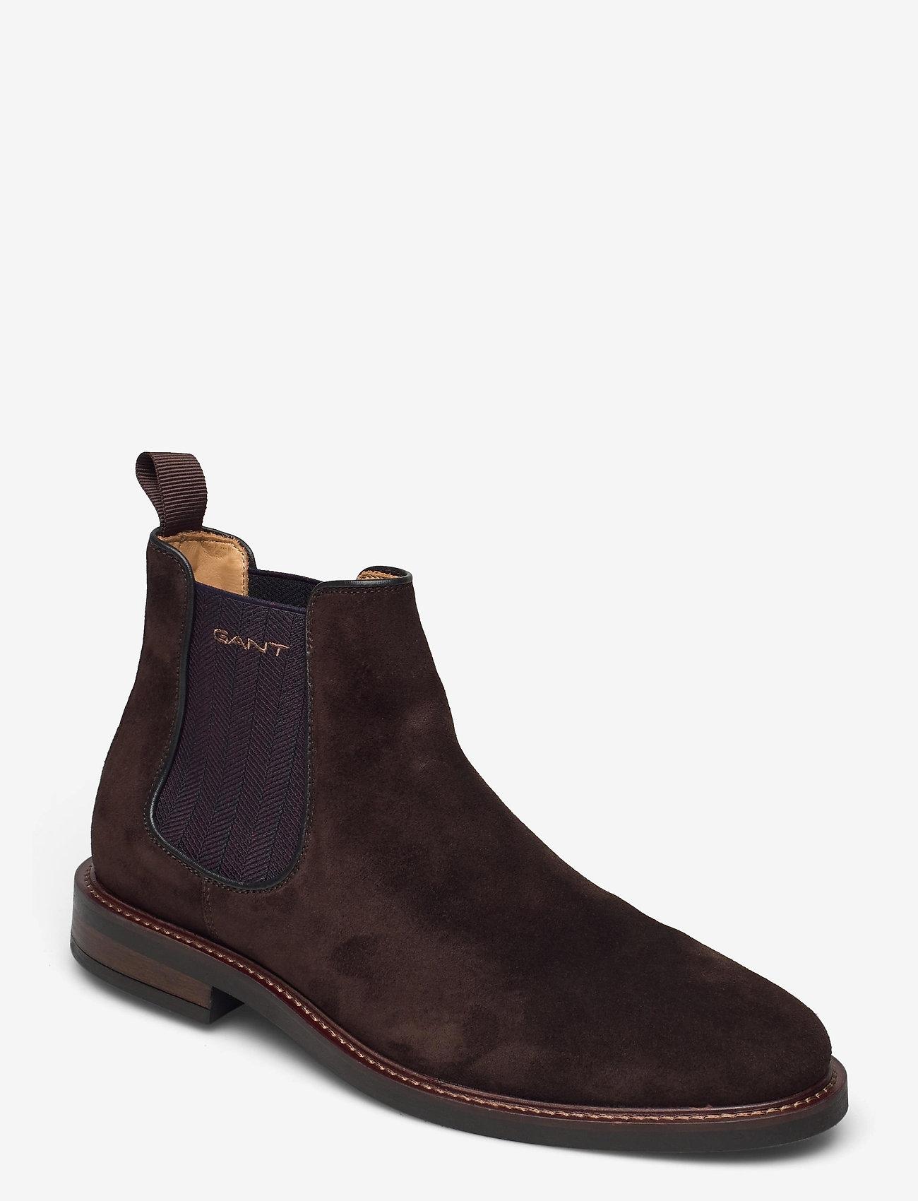 GANT - St Akron Chelsea - chelsea boots - dark brown - 0