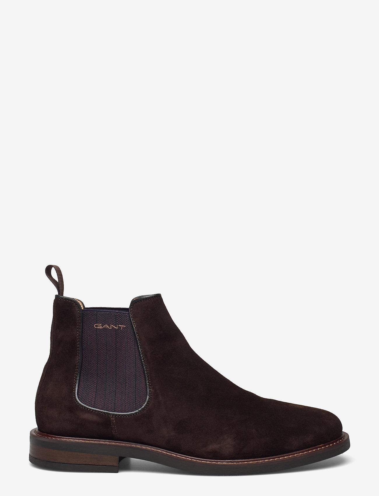 GANT - St Akron Chelsea - chelsea boots - dark brown - 1
