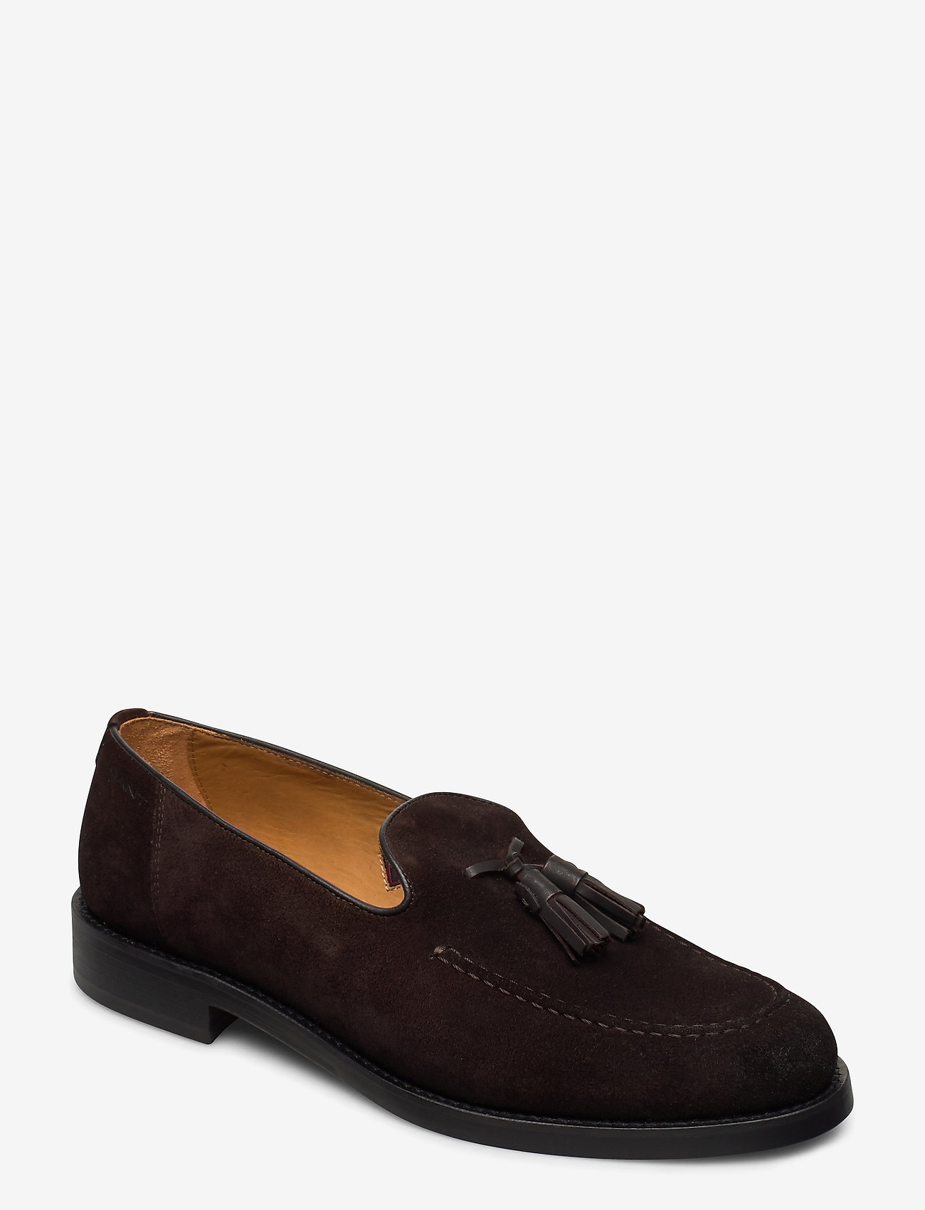GANT - Almon Slip-on shoes - instappers - dark brown - 0
