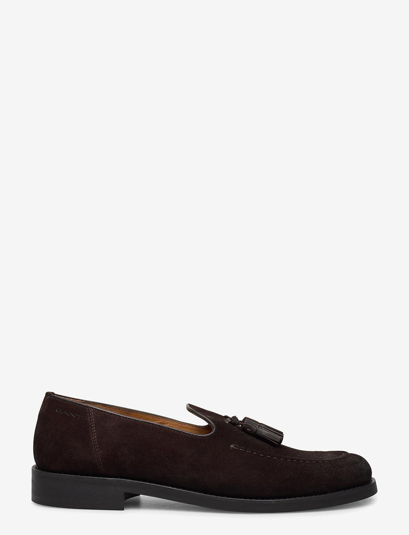 GANT - Almon Slip-on shoes - instappers - dark brown - 1