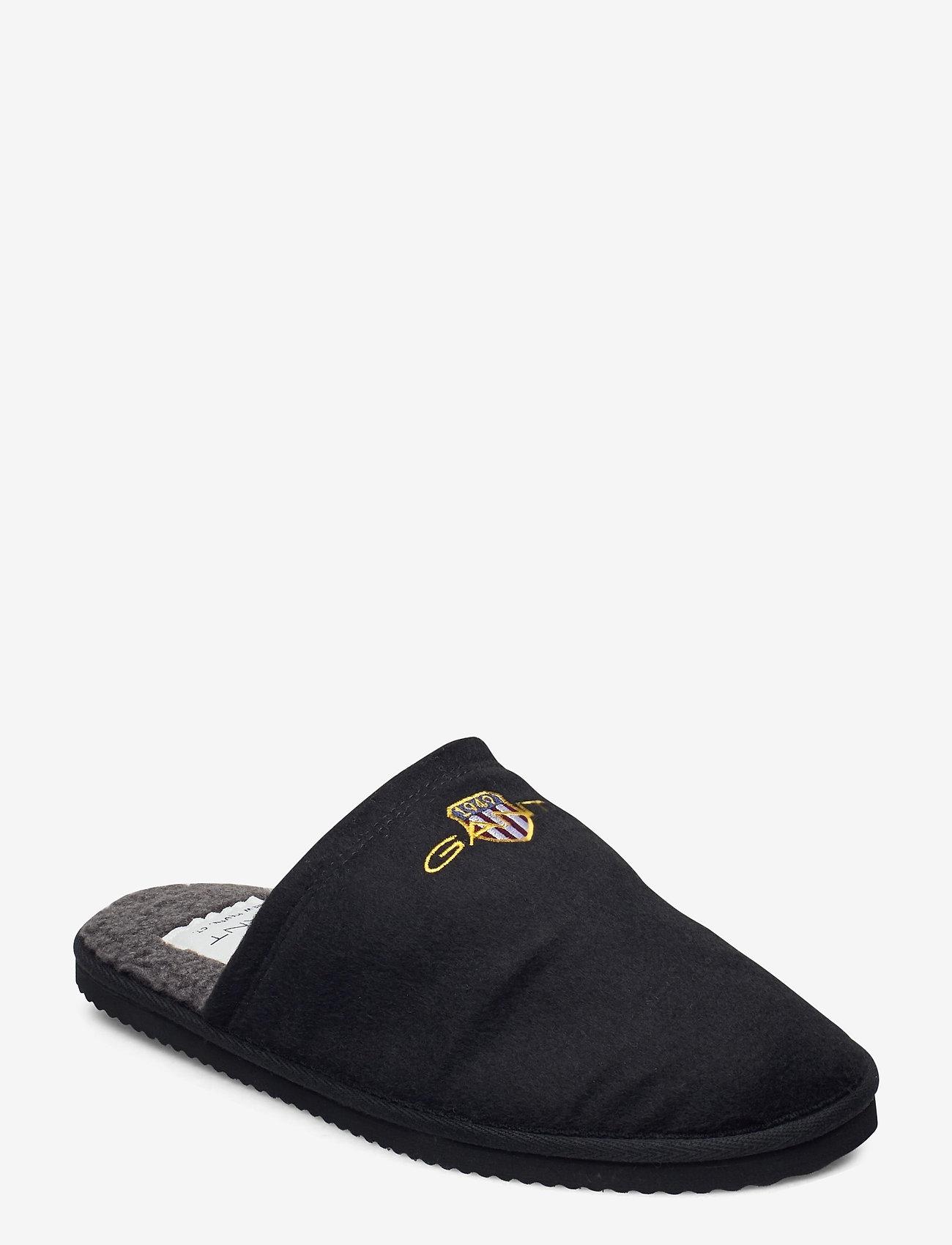 GANT - Tamaware Homeslipper - slippers - black - 0