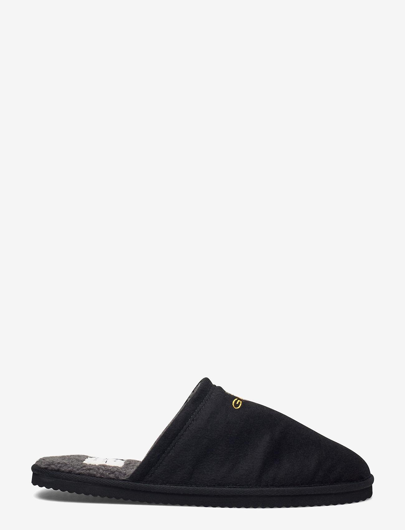GANT - Tamaware Homeslipper - slippers - black - 1