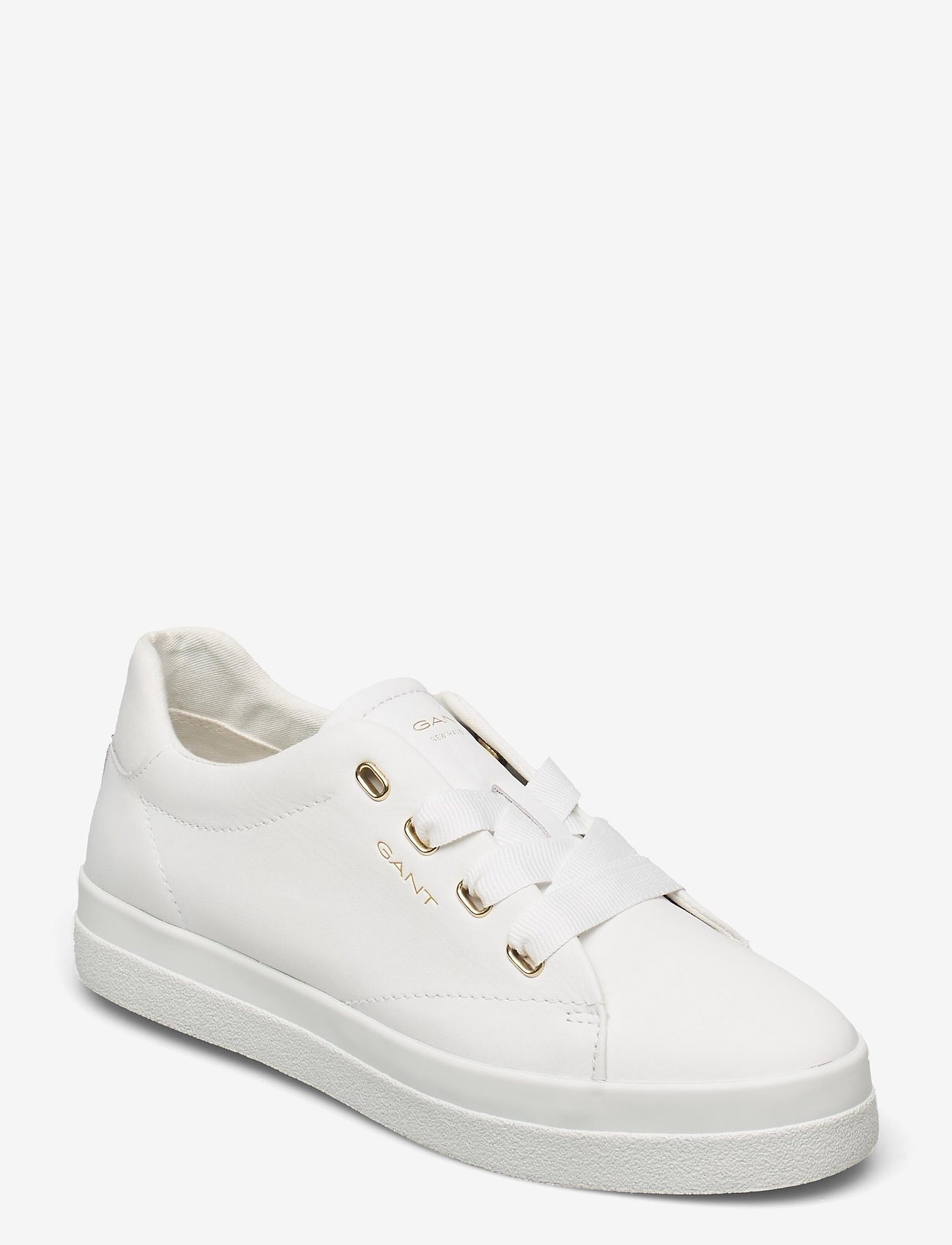 GANT - Avona Sneaker - låga sneakers - bright white - 0