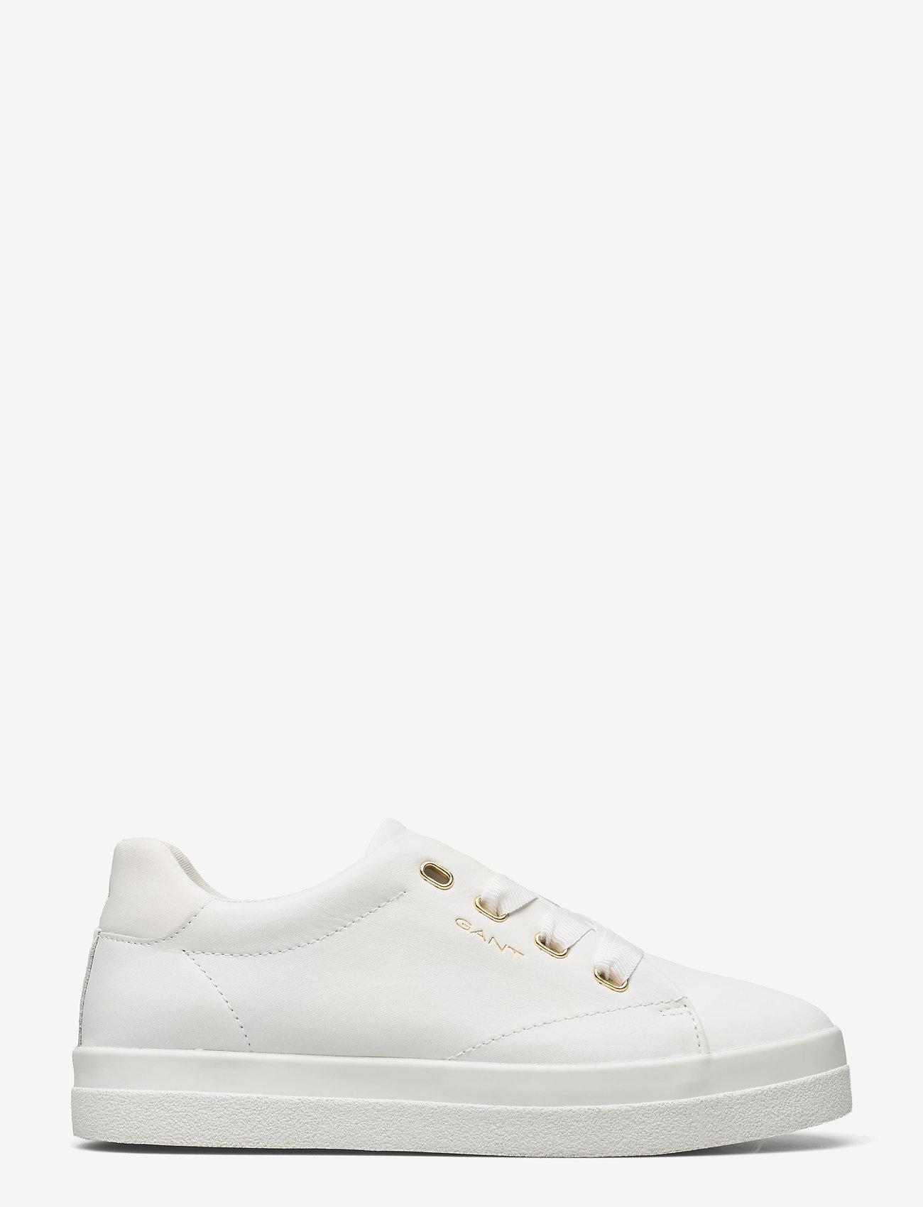 GANT - Avona Sneaker - låga sneakers - bright white - 1