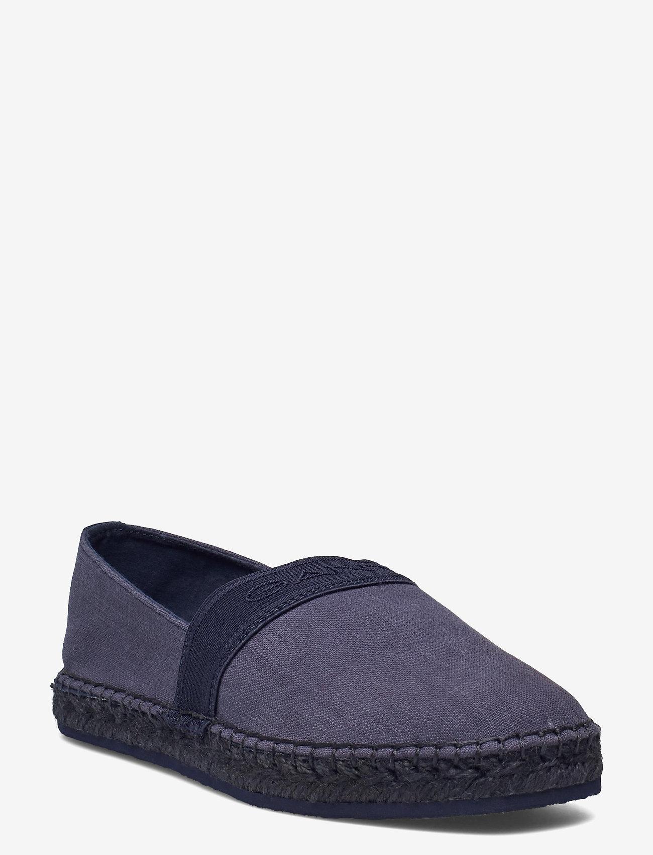 GANT - Lular Espadrille - flade espadrillos - indigo blue - 0