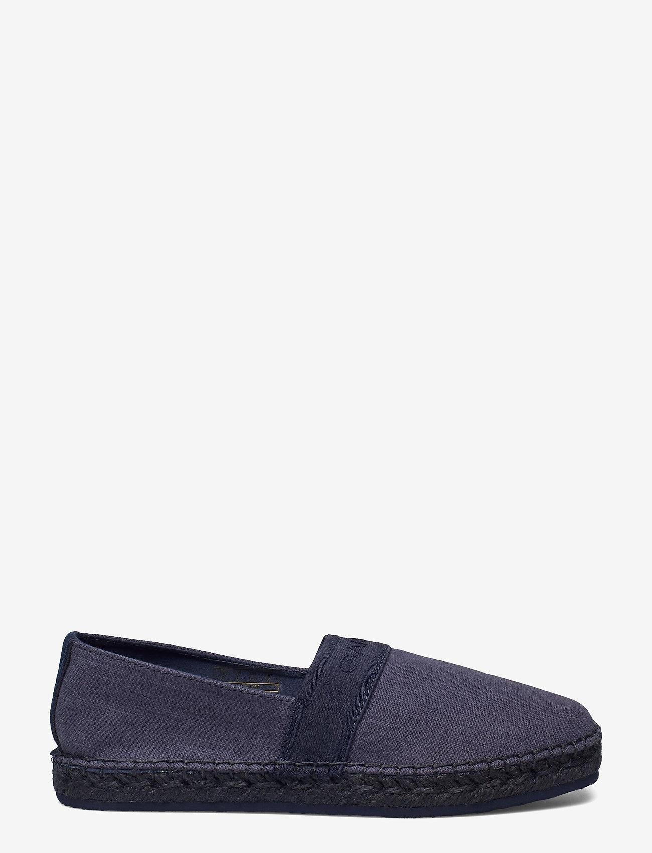 GANT - Lular Espadrille - flade espadrillos - indigo blue - 1