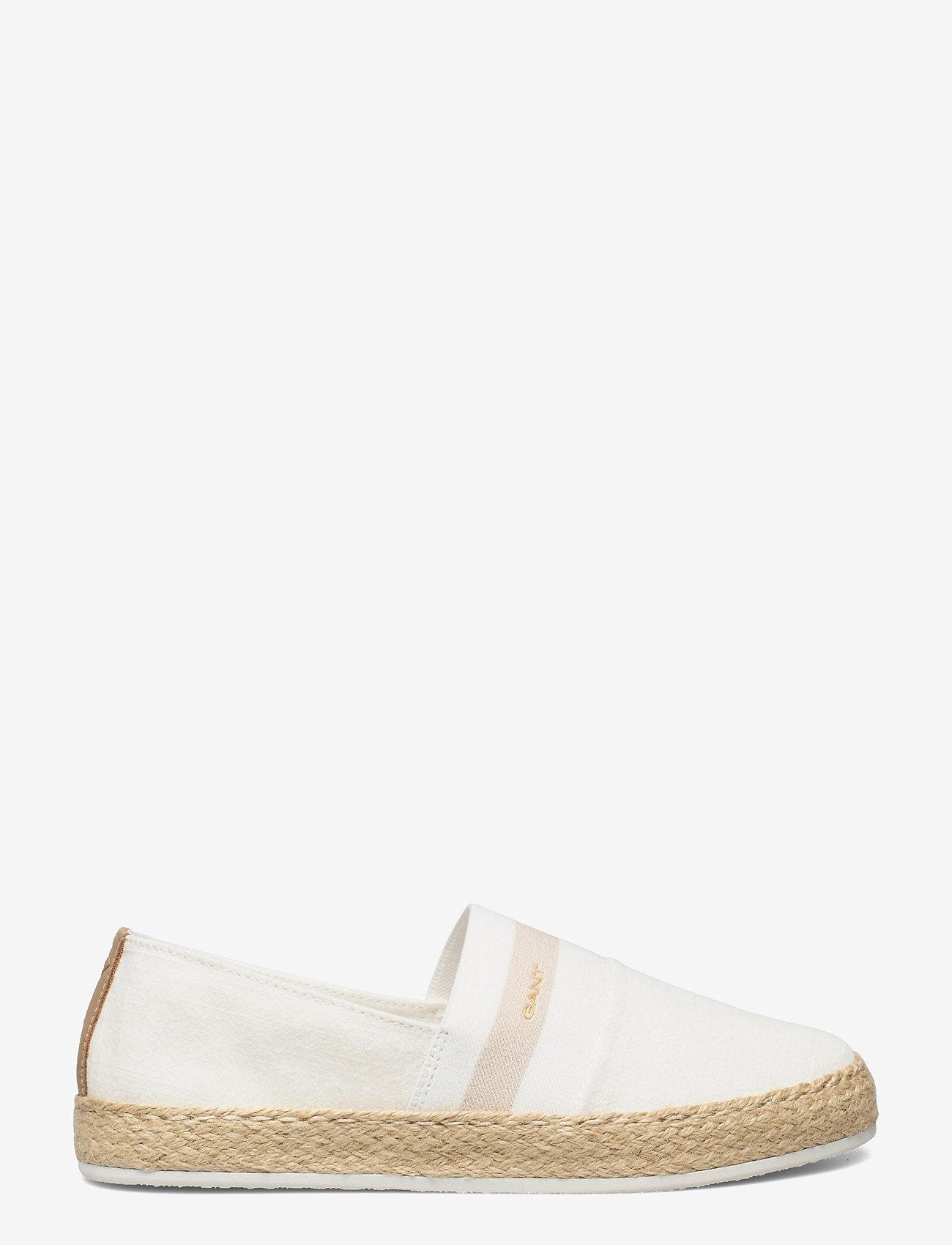 GANT - Raffiaville Espadril - flade espadrillos - off white - 1