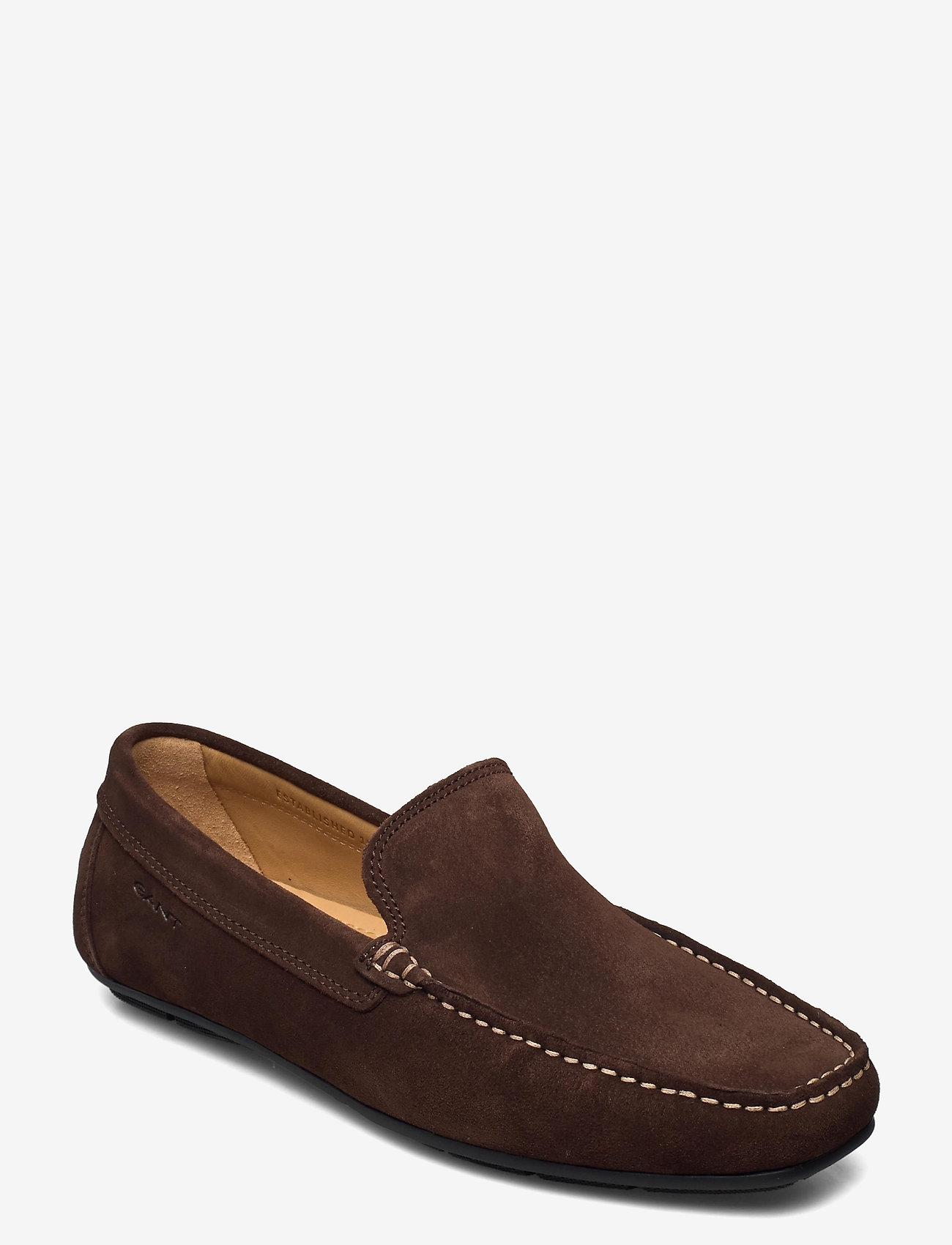 GANT - Mc Bay Loafer - loafers - dark brown - 0