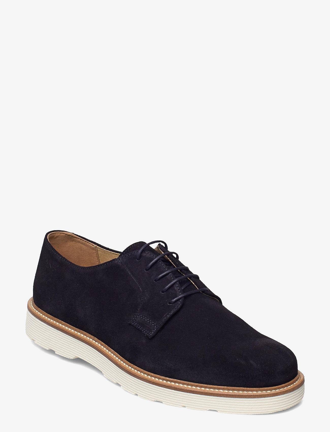 GANT - Prepburg Low lace sh - laced shoes - marine - 0