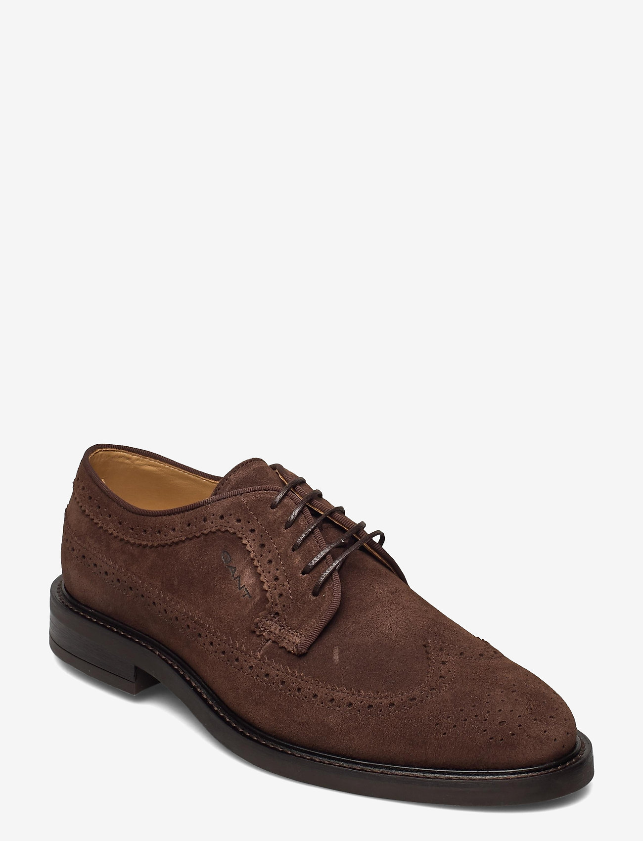 GANT - St Akron Low lace sh - laced shoes - dark brown - 0