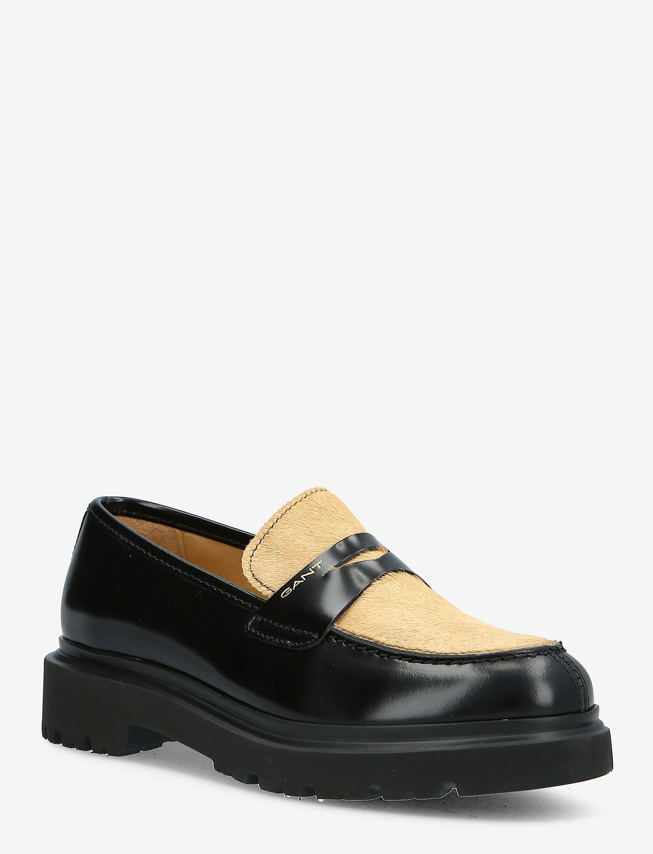 GANT - Malinca Loafer - loafers - black/walnut - 0