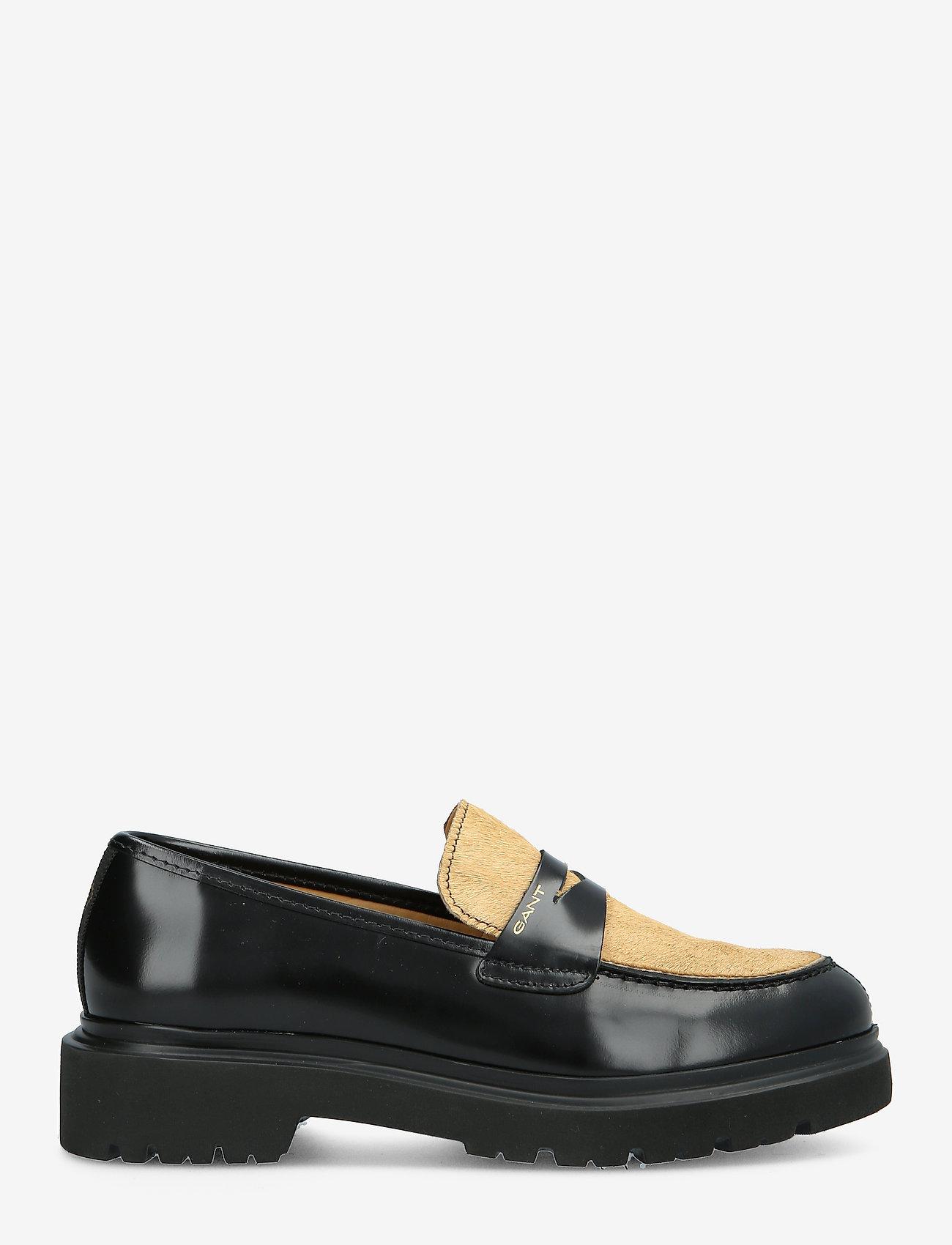 GANT - Malinca Loafer - loafers - black/walnut - 1