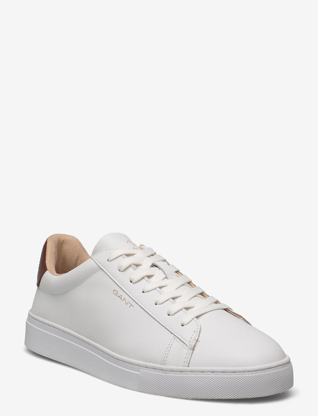 GANT - Mc Julien Sneaker - low tops - white/cognac - 0