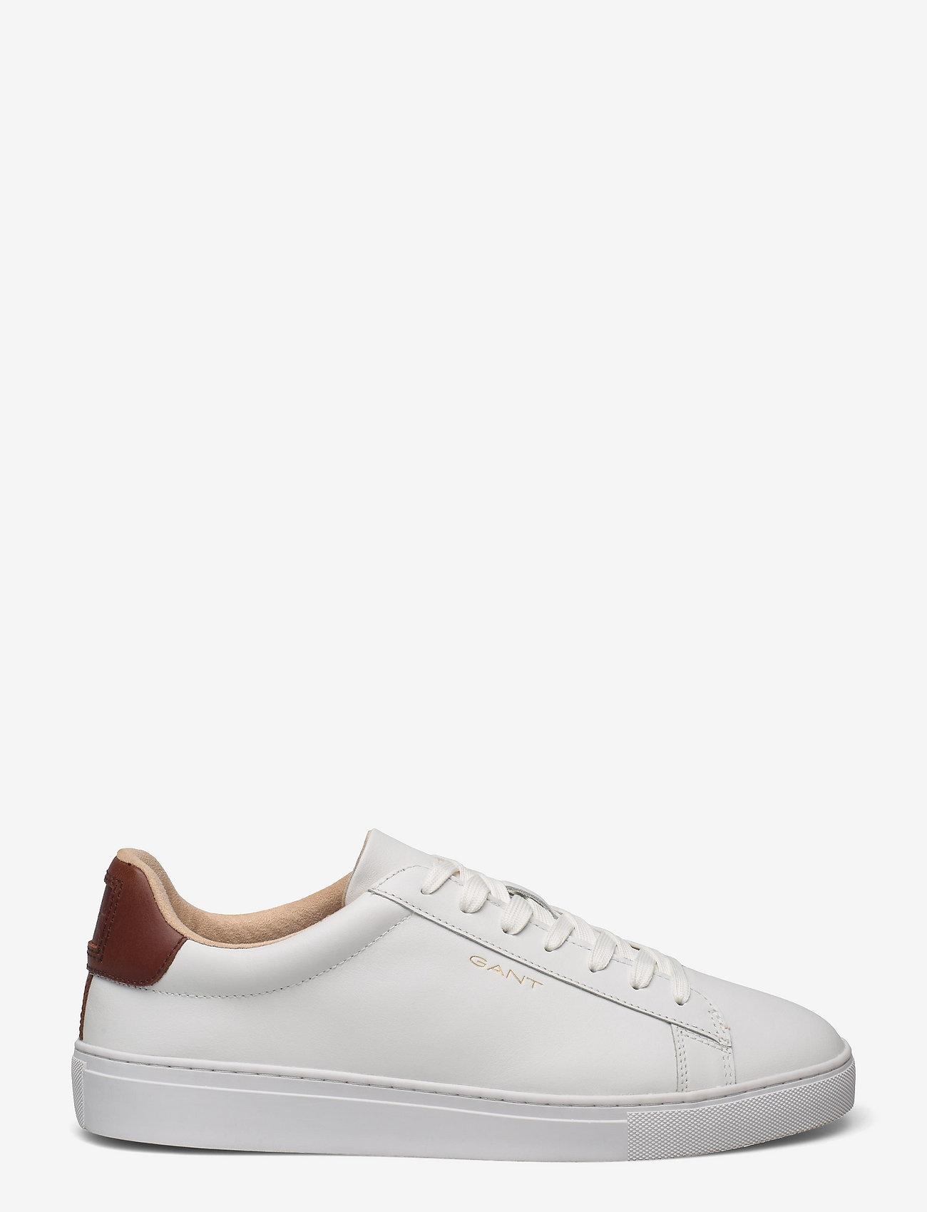 GANT - Mc Julien Sneaker - low tops - white/cognac - 1