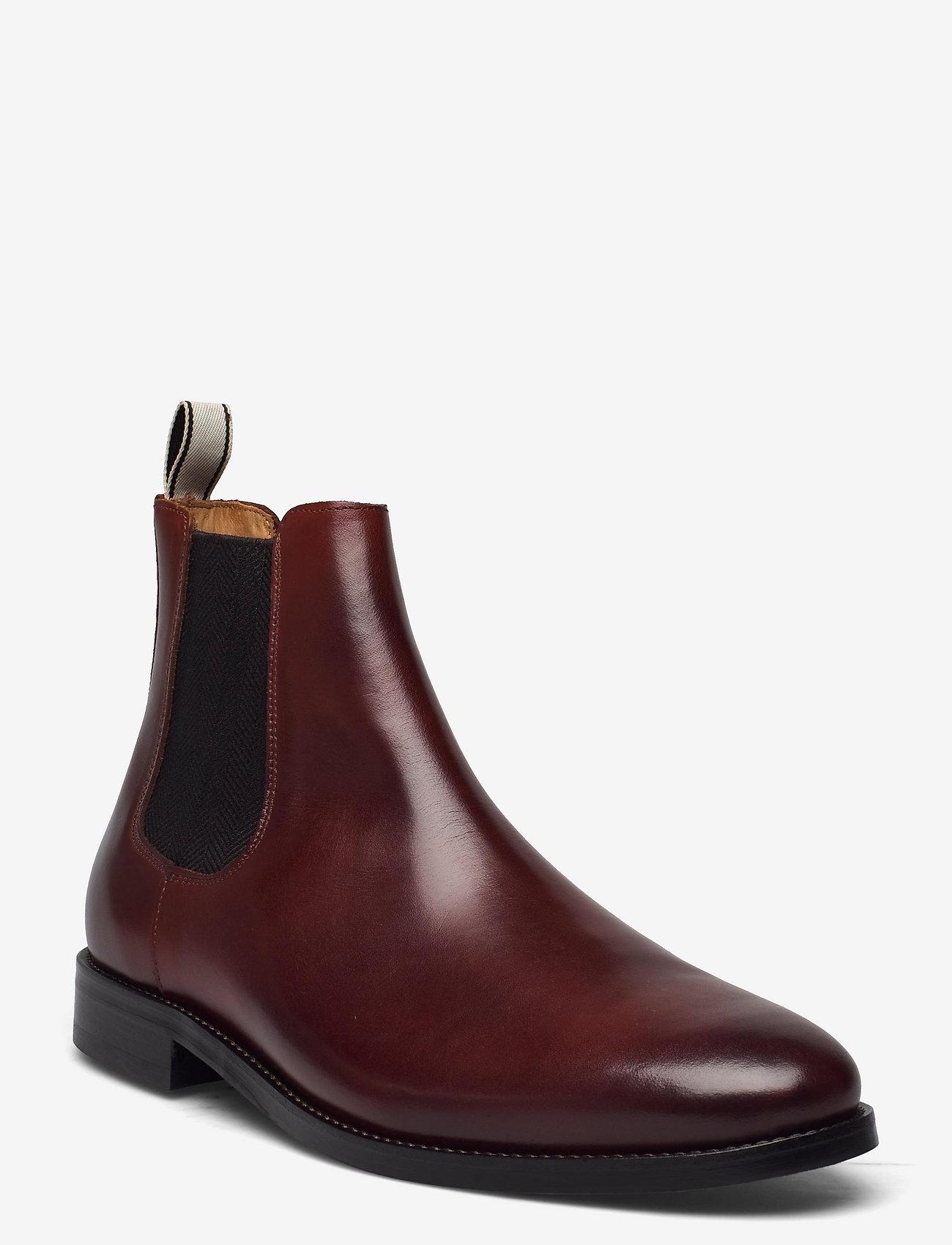 GANT - Sharpville Chelsea Boot - chelsea boots - cognac/dk brown - 0