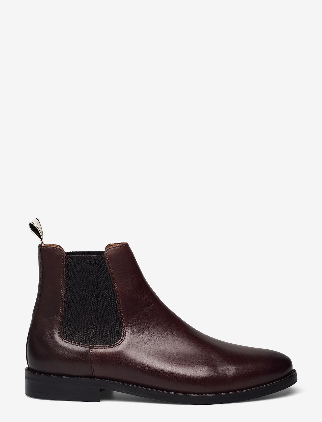 GANT - Sharpville Chelsea Boot - chelsea boots - dark brown - 1