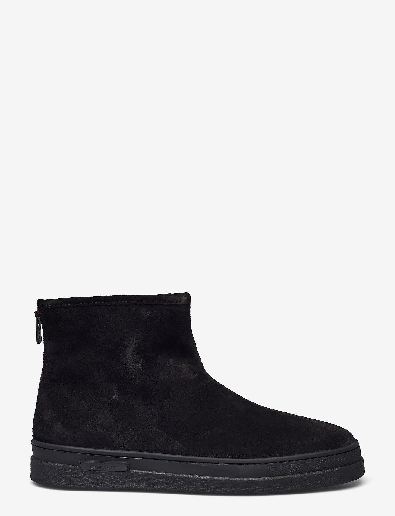 GANT - Cloyd Mid Zip boot - winter boots - black - 1