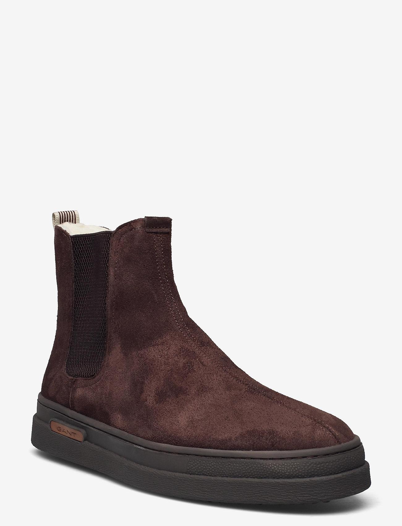GANT - Cloyd Chelsea - chelsea boots - dark brown - 0