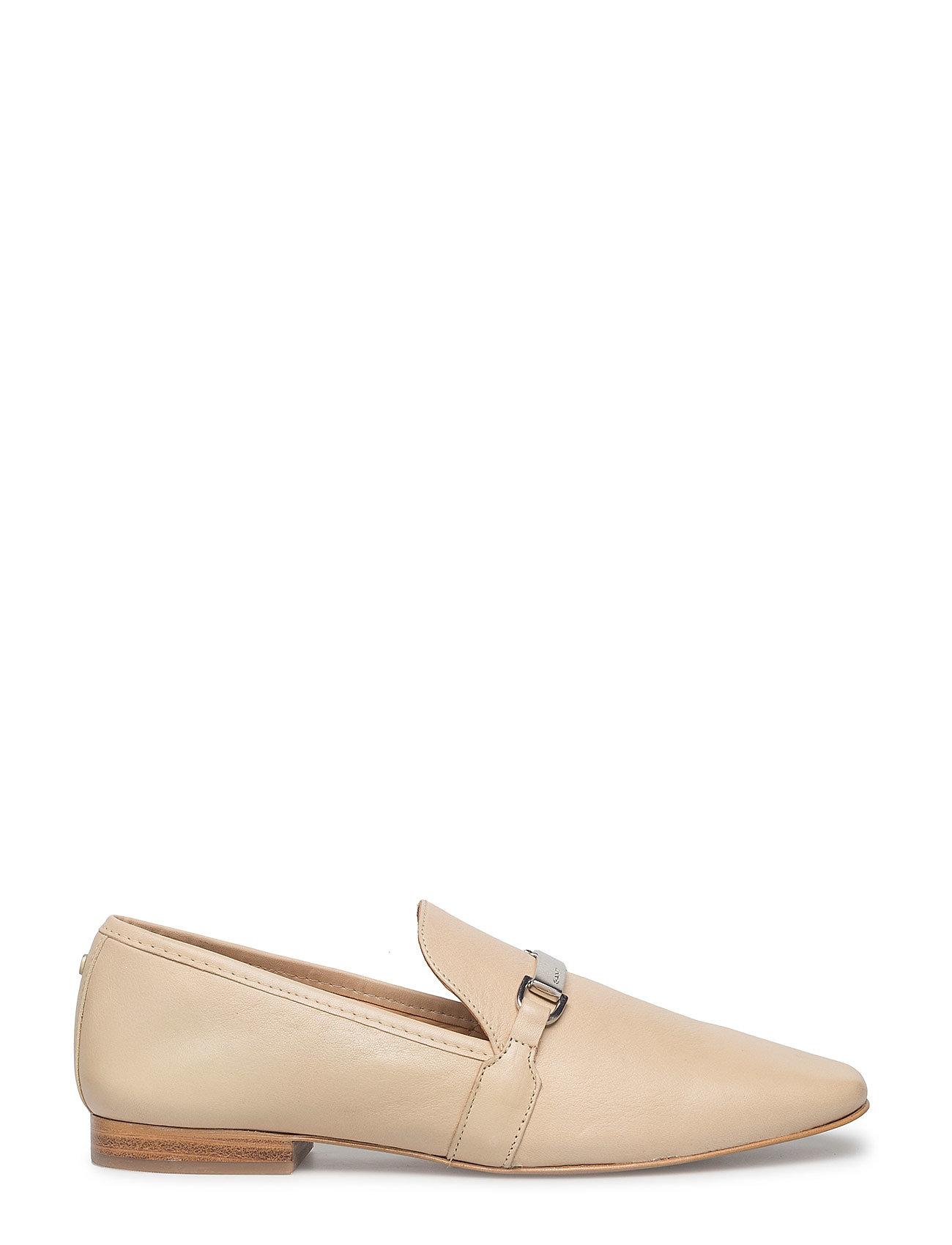 Melinda Slip On Shoes Loafers Flade Sko Beige GANT