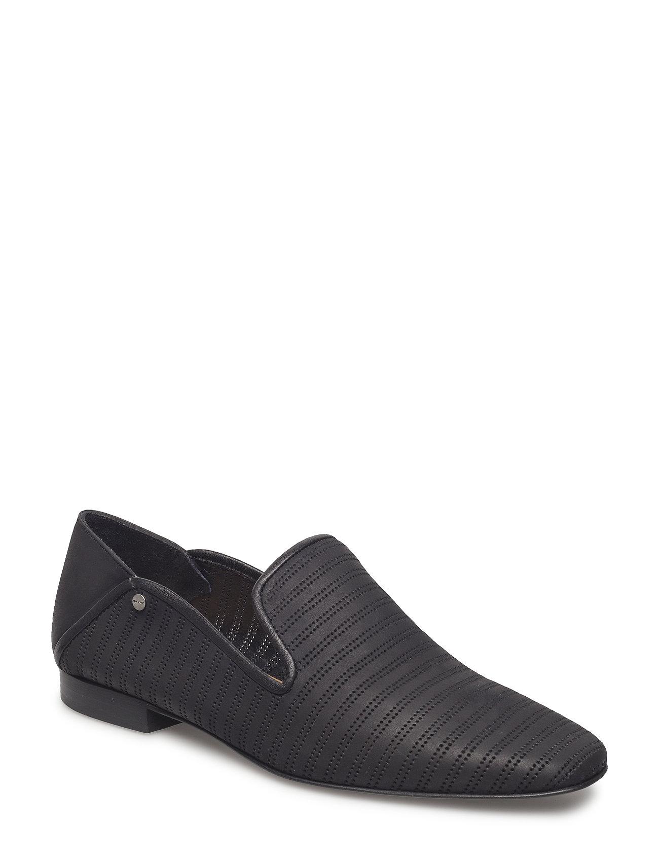 Melinda Slip On Shoes Loafers Flade Sko Sort GANT