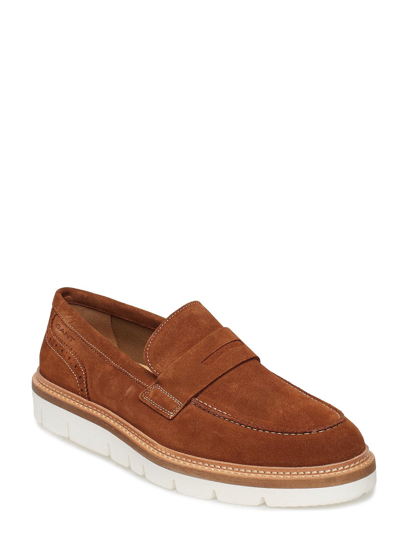 GANT Yuko Slip-On Shoes Shoes Business Loafers Braun GANT