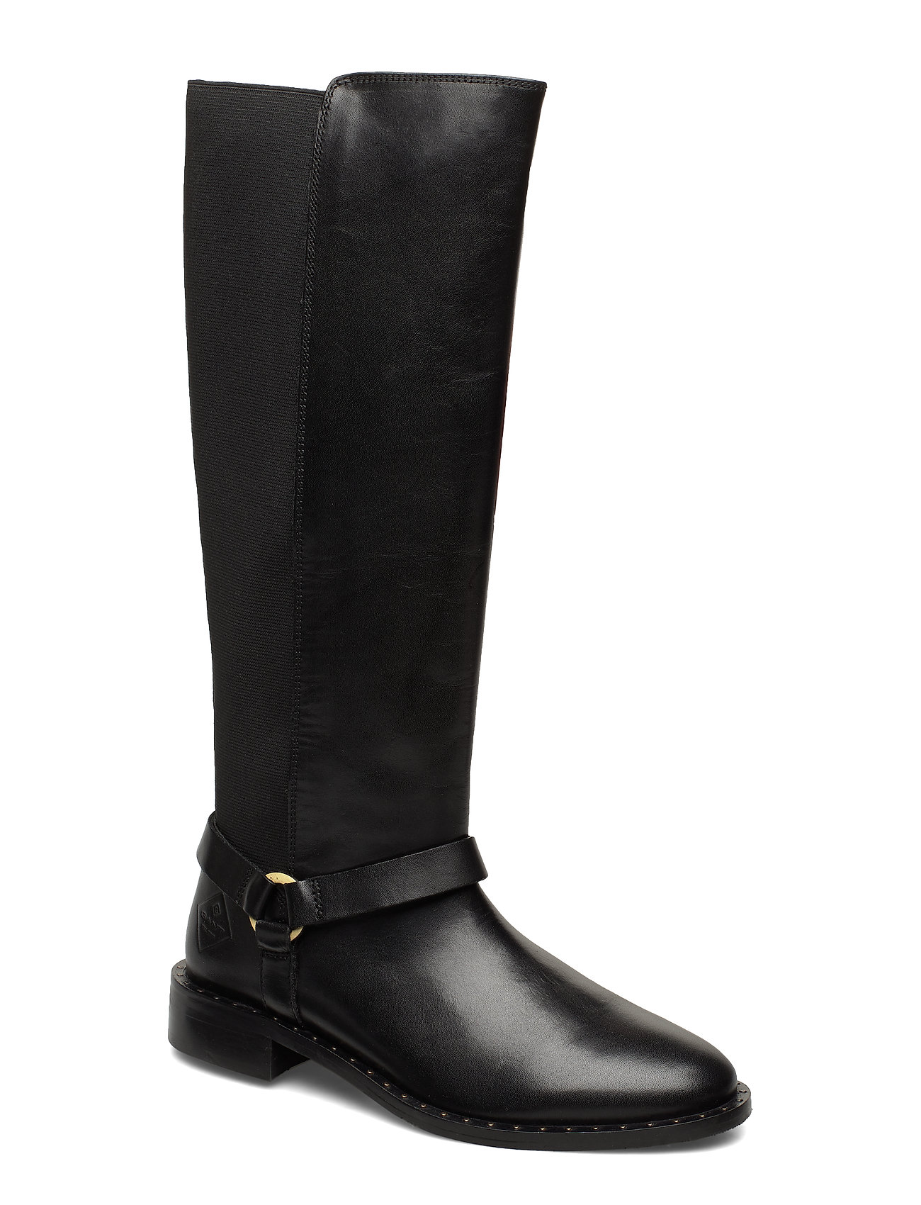 GANT Hampton Long shaft boot - BLACK