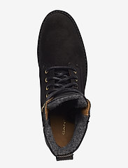 GANT - Casey Mid lace boot - flat ankle boots - black - 3