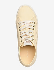 GANT - Pinestreet Low laceshoes - low top sneakers - light yellow - 3